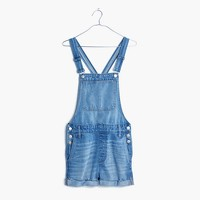 Adirondack Short Overalls in Saskia Wash
