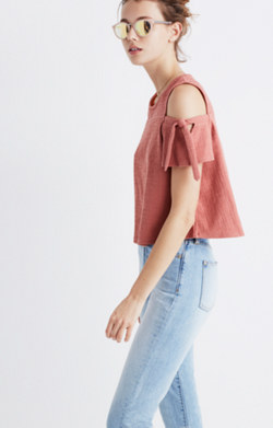 Skylark Cold-Shoulder Top
