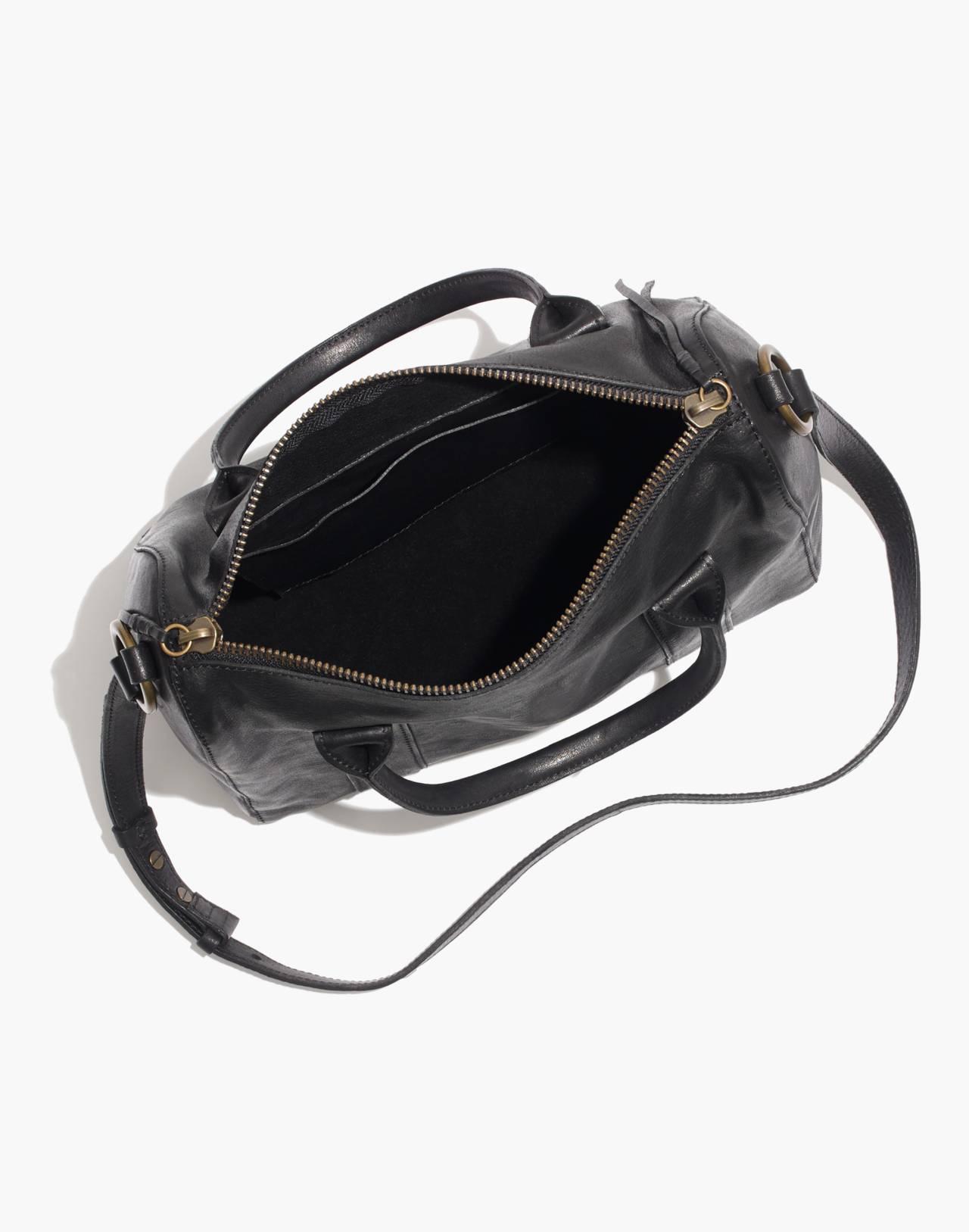The Prague Satchel in true black image 2