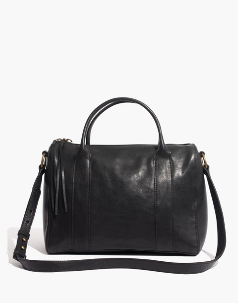 The Prague Satchel in true black image 1