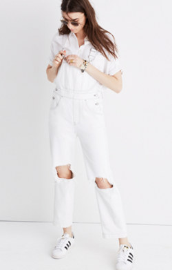 Madewell x Where I Was From™ Crop Overalls