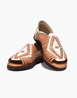 Chamula™ Chichen Open-Toe Huarache Sandals