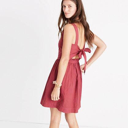 Apron Bow-Back Dress