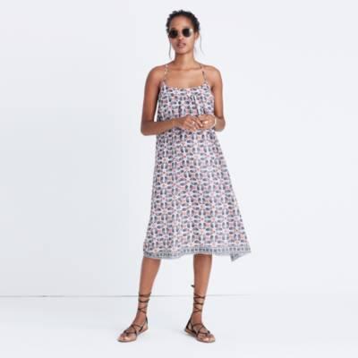 Eyelet Garden Dress casual dresses Madewell