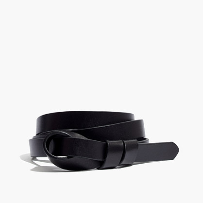 Leather Loop Belt