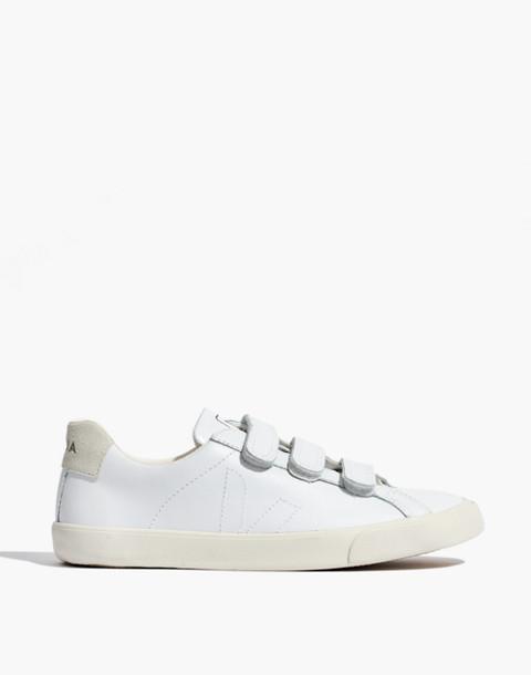 Veja™ 3-Lock Esplar Low Sneakers in white image 3