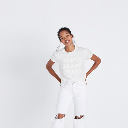 Madewell x Where I Was From™ Jeans Jeans Jeans Tee