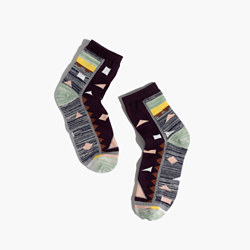 Spring Geometric Ankle Socks