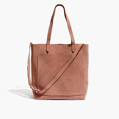 The Suede Medium Transport Tote