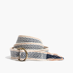 Woven Sash Belt
