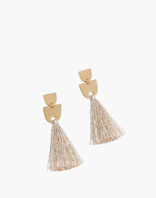 f56c971ad5bff4 Tassel Earrings in champagne image 1