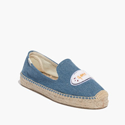 Madewell x Soludos® Good Vibes Platform Smoking Slippers
