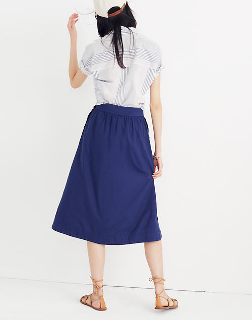 9b5c0af44ae8 Side-Button Skirt in null image 2