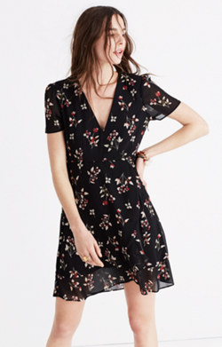 Posy Floral Ruffle Dress