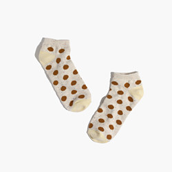 Spring Dot Anklet Socks