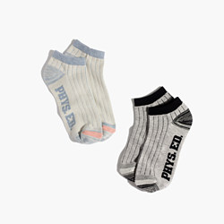 Two-Pack Phys Ed Anklet Socks