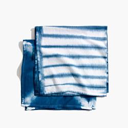 Madewell x Food52™ Two-Piece Shibori Tea Towel Set
