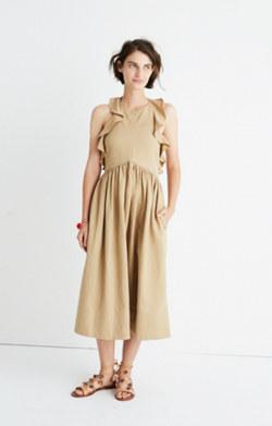 Ulla Johnson™ Cecily Ruffled Midi Dress