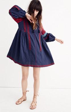 Ulla Johnson™ Embroidered Yelena Tunic Dress