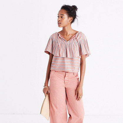 Pre-order Ace&Jig™ Clifton Stripe Top