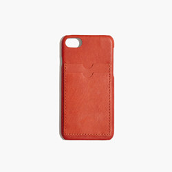Leather Carryall Case for iPhone® 6/7 in Burnished Orange