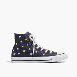 Converse® Unisex Chuck Taylor All Star High-Top Sneakers in Denim Daisy