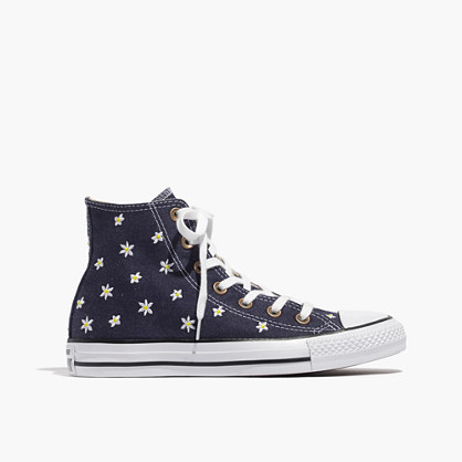 Converse® Chuck Taylor All Star High-Top Sneakers in Denim Daisy