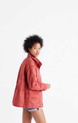 Prospect Jacket in Spiced Rose