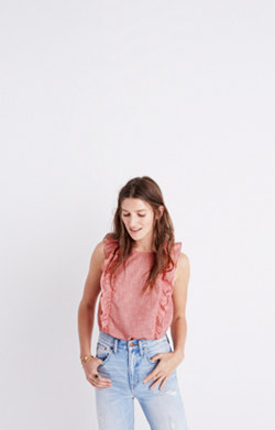 Bellflower Ruffle Top