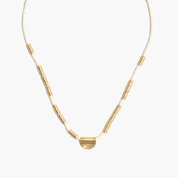 Halfmoon Rope Necklace