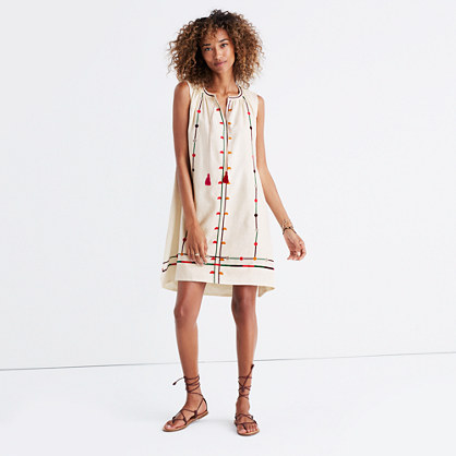 Embroidered Sunview Dress