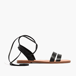 The Boardwalk Ankle-Tie Sandal