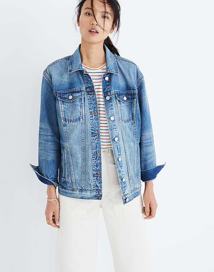 9ff6b59a6 Top Rated. The Oversized Jean Jacket ...