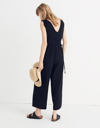 Waikiki Cover-Up Jumpsuit in true black image 2