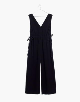 Waikiki Cover-Up Jumpsuit in true black image 4
