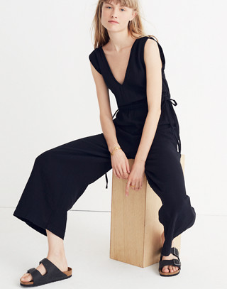 Waikiki Cover-Up Jumpsuit in true black image 1