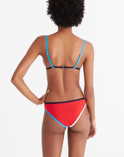 Tavik® Jayden Colorblock Bikini Bottom in red white blue image 3