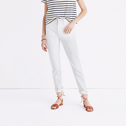 The Perfect Summer Jean in Tile White
