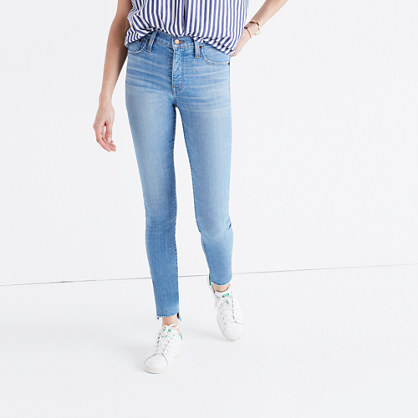 "9"" High-Rise Skinny Jeans in Centerville Wash: Step-Hem Edition"