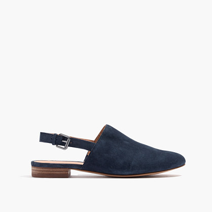 The Callie Slipper Flat in Suede