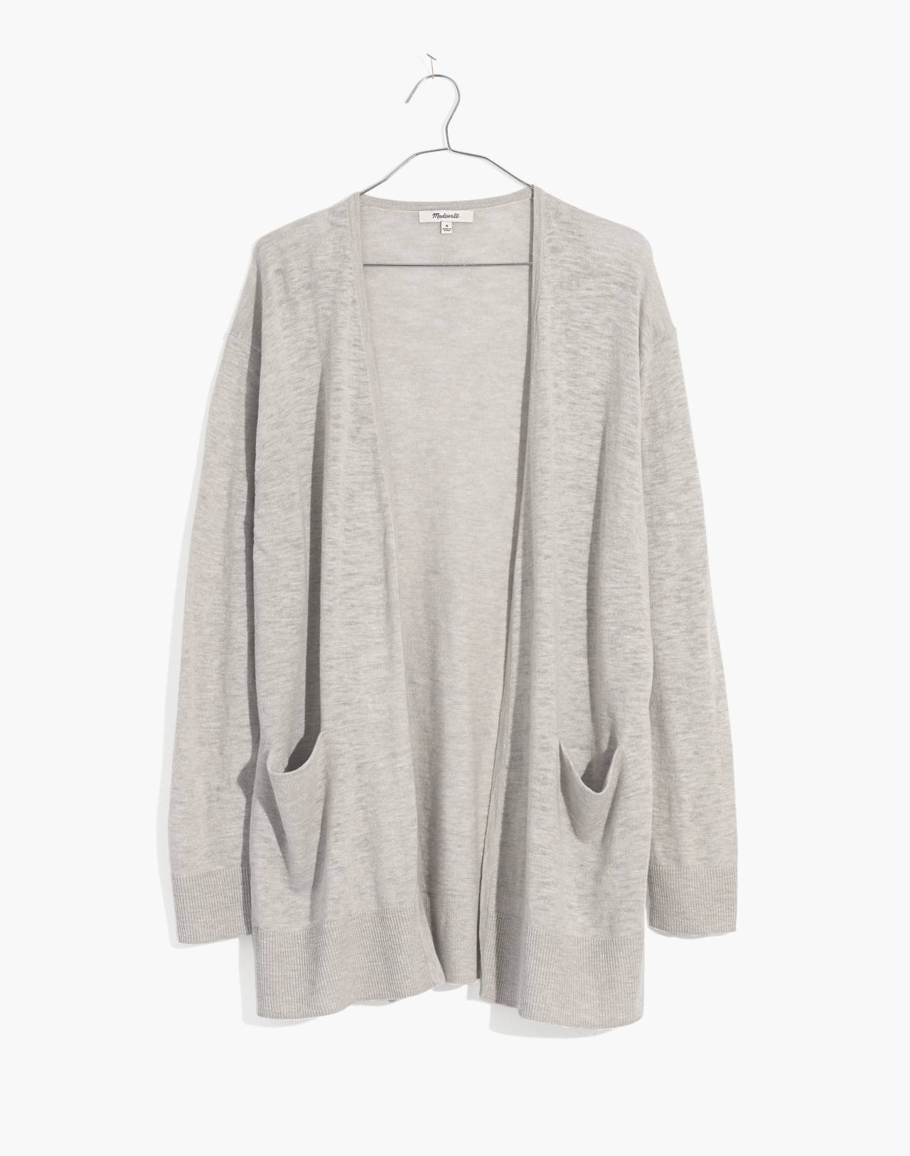 Summer Ryder Cardigan Sweater in heather ice image 1