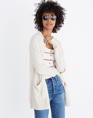 Summer Ryder Cardigan Sweater in hthr oatmeal image 2 f69fb300a
