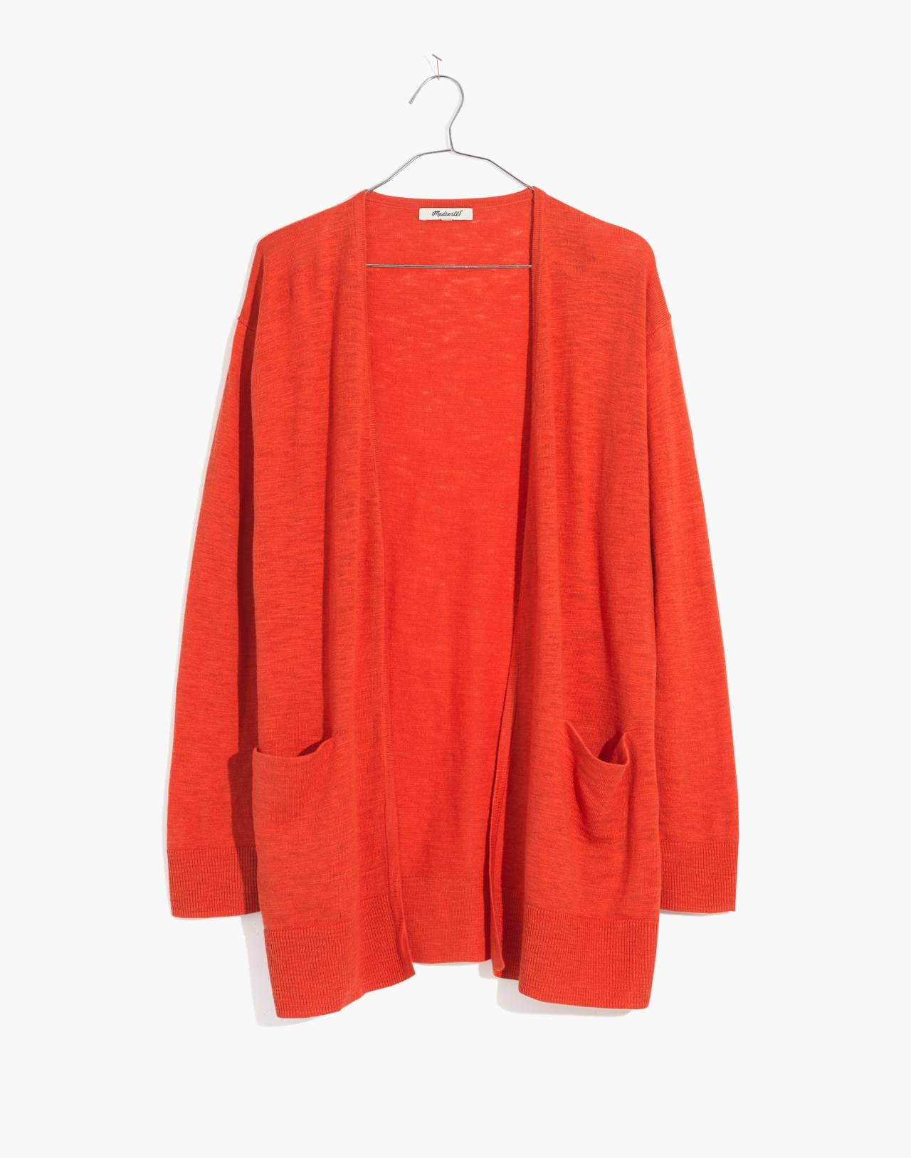 Summer Ryder Cardigan Sweater in coastal orange image 1