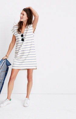 Vacances Dress in Leta Stripe