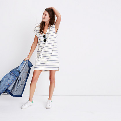 Vacances Dress in Leta Stripe