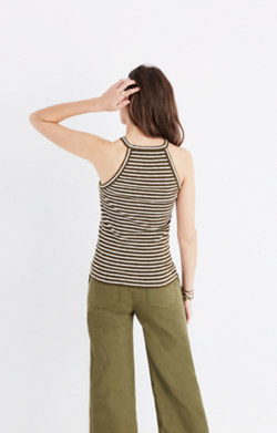 Timeoff Tank Top in Marion Stripe