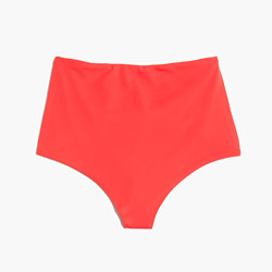 Mara Hoffman® High-Waist Bikini Bottom in Coral
