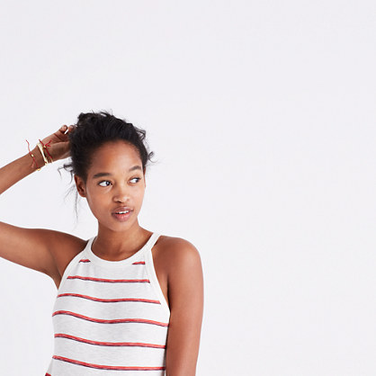 Timeoff Tank Top in Shawn Stripe