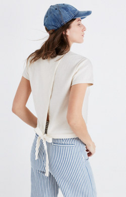 Verse Tie-Back Top