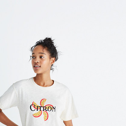 Citron Graphic Tee